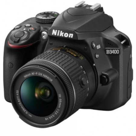 Digitalni fotoaparat Nikon D3400 + 18-55mm VR AF-P